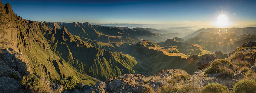 Tailor made safaris - drakensberg mountain range